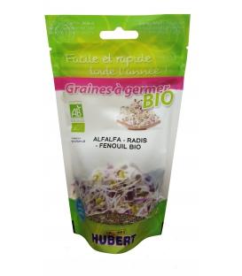 Graines à germer - Alfalfa - Radis - Fenouil BIO