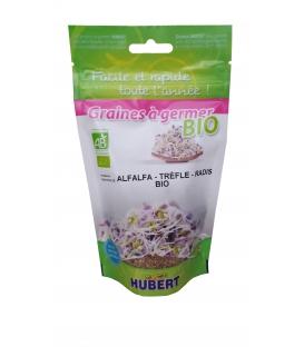 Graines à germer - Alfalfa - Trèfle - Radis BIO