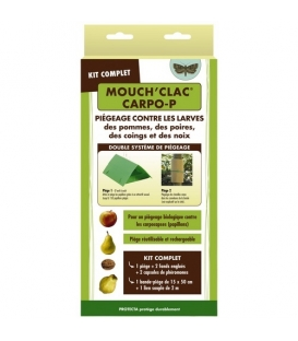 Mouch'clac Carpo P - Larves et Papillons des Pommes Poires Coings et Noix