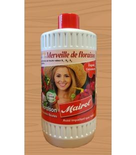 Engrais liquide floraison et géraniums MAIROL 1000 ml