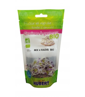 Graines à germer Mix 4 Radis BIO