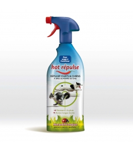 Hot Repulse Répulsif Chats & Chiens 800 ml