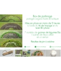 Box de Jardinage Légumes BIO SHIDO