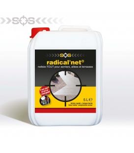 Nettoyant Radical'Net 5 Litres + Rampe d'Arrosage
