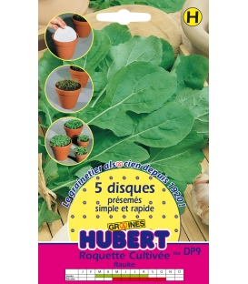 Disques présemés de graines de Roquette Cultivée