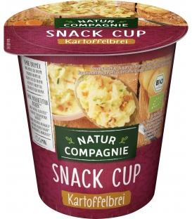 Snack Cup Purée de Pommes de Terre avec Oignons Rissolés et Carottes