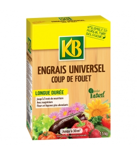 Engrais Universel Coup de Fouet - 1,5 kg