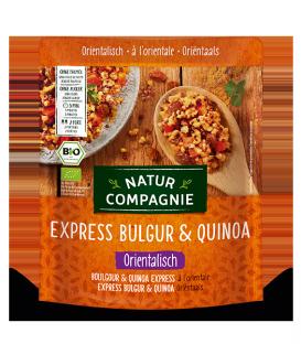 Boulgour & Quinoa Express à l'Orientale BIO