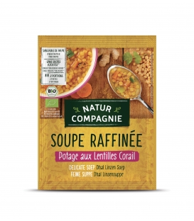 Potage aux Lentilles Corail Bio