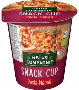 Snack Cup Pâtes à la Sauce Tomate BIO