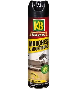 Aérosol Mouches & Moustiques Action Choc - 520 ml
