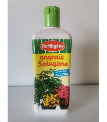 Engrais Liquide Plantes Vertes & Fleuries Solugène 500 ml